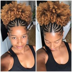 The number styles you can create with cornrows are limitless! Read on our cornrows guide with conrow hairstyles inspiration and different looks you can create. Natural Hair Braids, Natural Hair Care, Natural Hair Styles, Natural Updo, Natural Waves, Medium Hair Styles, Curly Hair Styles, Hair Puff, Puffy Hair