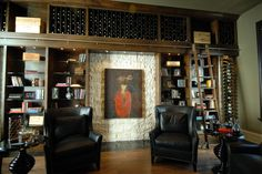 Customizada!  eclectic wine cellar by Lifestylist® Design Inc.