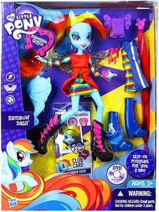 My Little Pony Equestria Girls 9 Inch Doll Rainbow Dash