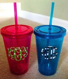 I love these double-walled cups! They keep the condensation off of my tables. (And they're cute!)