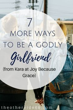 Last week, Kara from Joy Because Grace shared 7 ways to be a godly girlfriend–taken from 1 Corinthians Today, she has 7 more biblical tips to help you in your relationship. Grab your Bible and flip to 1 Corinthians and dig in to this post. Praying For Your Husband, Dear Future Husband, Bible Quotes, Bible Verses, Scriptures, Godly Relationship Advice, Godly Dating, Christian Relationships, Christian Dating