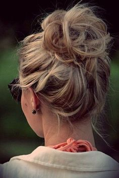 Casual Messy Updo for Women