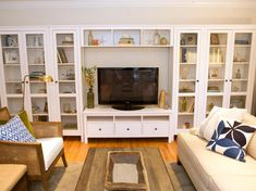 10 Beautiful Built-Ins and Shelving Design Ideas | Home Remodeling - Ideas for Basements, Home Theaters & More | HGTV