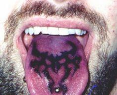 Tongue Tattoo Ideas: Tribal Tongue Tattoo Ideas For Men ~ heledis.com Tattoo Ideas Inspiration