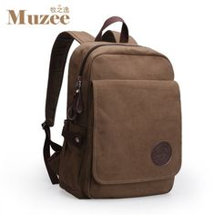 2017 New Backpack Canvas Shoulders Computer Bags Travel Bag Leisure Men Ms 17942906255 Leather