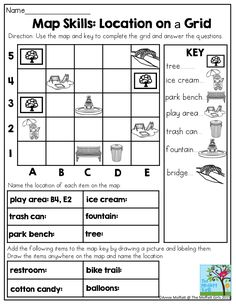 Check Out This Worksheet From Our Map Skills Page To Help Students - Us map skills worksheets