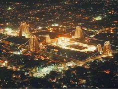 madurai city in night lights