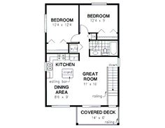 Bungalow likewise 3e5bnbg furthermore Narrow House Plans likewise Floorplan2br1baga as well Brewster 335. on 1 br house plans