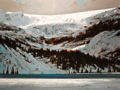 Min Ma, artist, original landscape paintings at White Rock Gallery Contemporary Landscape, Landscape Art, Landscape Paintings, Painting Snow, Art Graphique, Seascape Paintings, Canadian Artists, Winter Scenes, Painting Inspiration