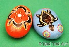 Kids Craft: Indigenous Inspired Good Luck Stones - Red Ted Art - Make crafting with kids easy & fun Aboriginal Education, Aboriginal Culture, Aboriginal Art, Indigenous Education, Art For Kids, Crafts For Kids, Arts And Crafts, Naidoc Week, Cultural Crafts