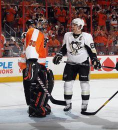Sidney Crosby Pittsburgh Penguins vs Philadelphia Flyers Game 3 April 15