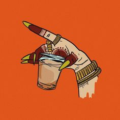 Sipping away our Monday blues, one cup of concentrate at a time ✨ 🎨 by . Indian Aesthetic, Aesthetic Art, Iphone Wallpapers, Indian Illustration, Pop Art Wallpaper, Quirky Art, Indian Folk Art, India Art, Indian Art Paintings