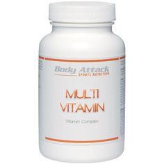 Dieses Produkt ist kein Ersatz für eine ausgewogene und abwechslungsreiche Ernährung sowie eine gesunde Lebensweise.  http://www.vitalwebshop.info/produkt/body-attack-multi-vitamin-100-tabletten/