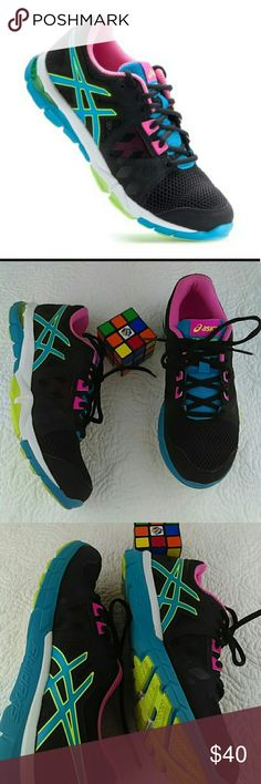 Asics gel-craze running shoes like new Excellent condition used only ones,super clean and comfortable..very nice colors. Asics Shoes Athletic Shoes