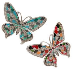 Check out the L. Erickson Marbella Butterfly Barrette (Benefits TNBC) at France Luxe