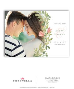 Save The Date Template  Wedding Engagement by FOTOVELLA Save The Date Templates, Wedding Templates, Engagement Announcement Cards, Save The Date Cards, Wedding Engagement, Dating, Photoshop, Etsy, Fairytale