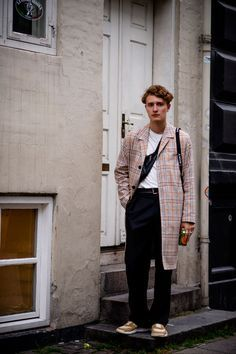 Copenhagen Fashion Week 2017. Great men's street style look