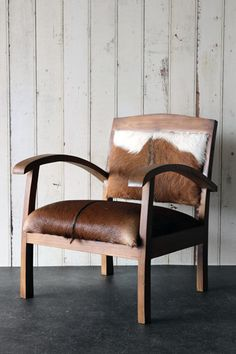 The Totally Unique Goat Hide Armchair - Chair Two