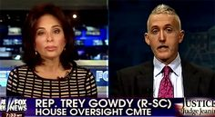 Judge Jeanine and Congressman Trey Gowdy (R-SC) discuss a variety of topics, beginning with the recent testimony before the House Oversight and Government Reform Committee of obamacare architect Jonathan Gruber. The Judge asks Gowdy, a former prosecutor, if there are grounds in his opinion for charges of fraud or perjury against Gruber. Gruber was combative and evasive in his testimony and refused to comply or agree to provide information to the hearing regarding his compensation... DEC 14…