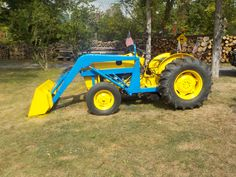 1972 FORD 4110 WITH ALLIED 300 LOADER AFTER PAINT  9/18/16