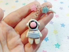 Kawaii Astronaut Polymer Clay Tutorial - YouTube
