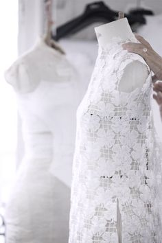 Christian Dior Atelier | Haute Couture, Spring 2014.