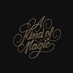 """One dream, one soul one prize, one goal one golden glance of what should be. It's a kind of magic!"" 🎶 ✨  #handmadetype #art #design #illustration #instagood #inspiration #goodtype #thedailytype #typespire #calligritype #showusyourtype #typeverything #typecally #typeriot #typography #type #lettering #handlettering #dribbble ~ #songs #lyrics #lyriclettering #itsakindofmagic #akindofmagic #magic #queen"