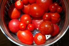 End of season tomatoes by Eve Fox, Garden of Eating blog, copyright 2012 by Eve Fox, via Flickr