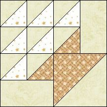 Block of Day for September 16, 2016 - Grape Basket-strip piecing-The pattern may be downloaded until: Friday, September 30, 2016.