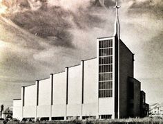 Church in Reykjavik, by Águst Pálsson.