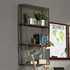 3 Single Shelf #pbteen. Love this for the kitchen.