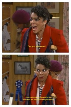 I absolutely love Whitley Gilbert and A Different World!