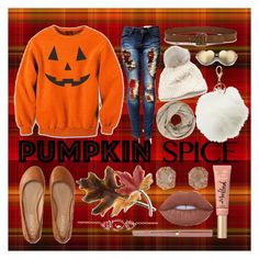 """""""PUMPKIN"""" by le-gratte-ciel ❤ liked on Polyvore featuring John Lewis, SIJJL, Charlotte Russe, Wildfox, Paige Denim, Aéropostale, Anne Klein, Luna Skye, Too Faced Cosmetics and Lime Crime"""