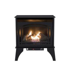 Bring style and warmth to your home space with a simple element by choosing this affordable Pleasant Hearth Compact Vent-Free Dual Fuel Gas Stove. Natural Gas Stove, Natural Gas Fireplace, Propane Fireplace, Propane Stove, Pellet Stove, Gas Fireplaces, Vent Free Gas Fireplace, Electric Fireplaces, Faux Fireplace