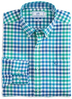Southern Tide A-List Sport Shirt- Cool Breeze from Shop Southern Roots TX