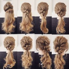 16 gorgeous women& hairstyles with edge ideas - frisuren haare hair hair long hair short Summer Hairstyles, Pretty Hairstyles, Wedding Hairstyles, Crazy Hairstyles, Ladies Hairstyles, Hairstyles 2016, Homecoming Hairstyles, Waitress Hairstyles, Everyday Hairstyles