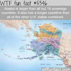 : How long is Alaska - WTF fun facts | March 8 2016 at 03:02AM | http://www.letstfact.com