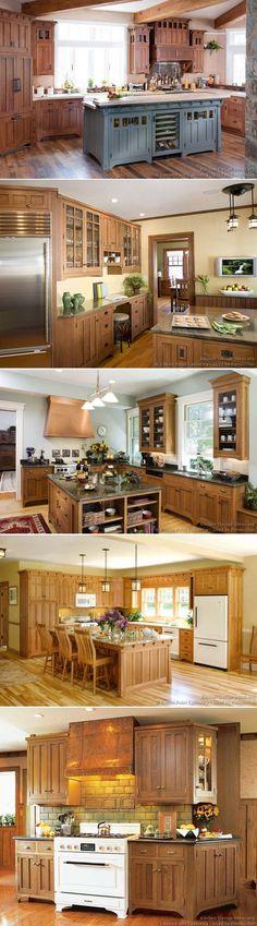Craftsman kitchen decorative design