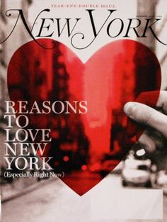 This NYer really does <3 NY!