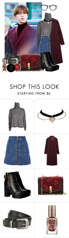 """""""I love glasses /488/"""" by danielagreg ❤ liked on Polyvore featuring Designers Remix, Topshop, Joseph, Altuzarra, Concrete Minerals, Barry M and Tom Ford"""