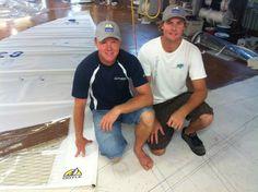 Yancy and Bucky Smith run Doyle Sailmakers Queensland in Australia