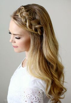 20 different head band hairstyles. Headband hairstyles for short hair. Headband hairstyles for medium hair. French Braid Hairstyles, Headband Hairstyles, Braided Hairstyles, Wedding Hairstyles, Hair Braid Headband, French Braid Headband, Bridesmaids Hairstyles, Crown Braids, Hairstyles Videos