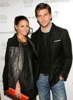 Olivia Palermo the Socialite: Olivia Palermo and Johannes Huebl at Welcome to the Riley's screening