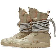 Nike SF Air Force 1 Hi (Rattan)   END. Nike Air Force High, Air Force 1, Nike Af1, Jordan Shoes, Sport Fashion, Fashion Men, New Shoes, Shoes Sport, Shoes Sneakers
