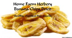 Banana chips dried, Order now, Healthy, long shelf life    We do not grow bananas on Home Farm Herbery but we use a lot of them in our kitchens so we import them from the Philippines.    Some of our loyal customers call themDried Banana Chips, Dehydrated Banana Chips or Sweet Banana Chips.   Hand Packed Ingredients:Sweetened Banana Chips  The taste is sweet, powerful and distinctive authentic Banana flavor.  We use it in trail mix, baking, muff...