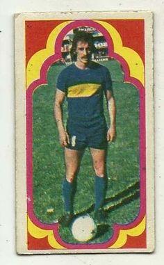 figurita boca jugadores 1975 futbol pernia n° 2