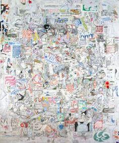 "Saatchi Art Artist Mikhail Gubin; Drawing, ""Enigmatic growths"" #art"