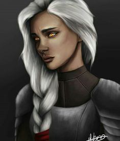 I'm guessing it's supposed to be Manon, but she reminds me more of Asterin - the face