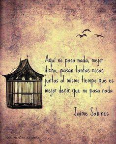 Las Frases y Poemas de Jaime Sabines, Hazte el amor.