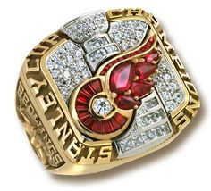 Stanley Cup ring...isn't it a beauty?
